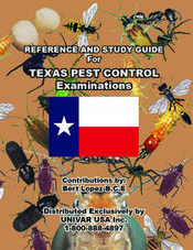TEXAS PEST CONTROL EXAMINATIONS