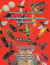 CALIFORNIA PEST CONTROL EXAMINATIONS