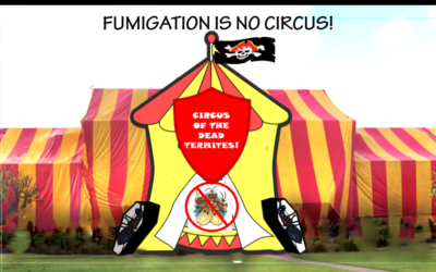"""FUMIGATION ISN'T A CIRCUS, BUT A """"TENT"""" IS INVOLVED!"""
